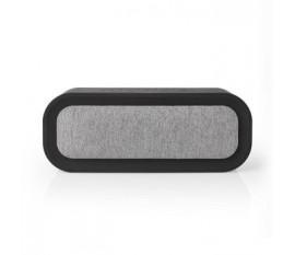 Enceinte Bluetooth® en tissu   30 W   Autonomie en utilisation jusqu'à 6 heures   Étanche   Gris/noir