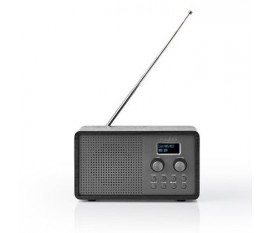Radio DAB+ | 4,5 W | FM | Fonction Horloge et Alarme | Noir