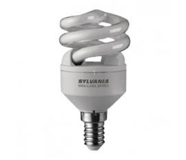 Ampoule fluorescente E14 Spirale 9 W 450 lm 2700 K