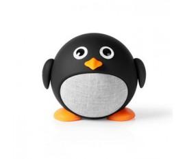 Haut -parleur Bluetooth | Temps de lecture de la batterie: Up to 3 Hours | Conception portable | 9 W | Mono | Microphone intégré | Liable | Animaticks Pippy Pinguin | Noir