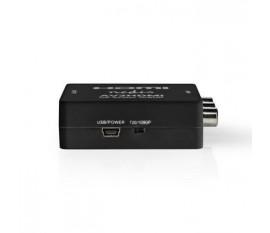 Convertisseur HDMI | 3x RCA Femelle | HDMI™ sortie | Une voie | 1080p | 1.65 Gbps | ABS | Anthracite