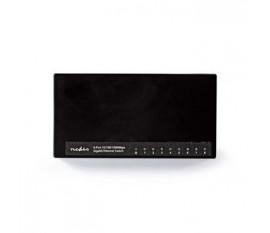 Commutateur réseau | 8 Ports | 1 Gbit/s | Lampes de Signalisation LED
