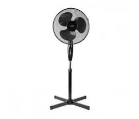 Support de ventilateur | Diamètre: 40 cm | 3 Vitesses | Oscillation | 45 W | Hauteur réglable | Noir