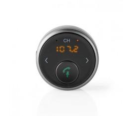 Multi adaptateur Bluetooth | Sortie de connexions: 1x 3.5 mm | SBC | Jusqu'à 5,5 heures | Microphone intégré | Transmetteur FM | Contrôle du Volume | Support de commande vocale | Oui | Fonction hors tension automatique | Noir/Gris