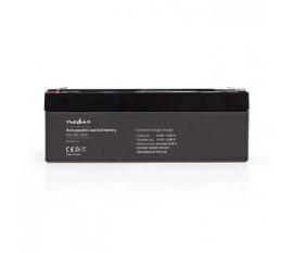 Pile rechargeable plomb-acide | Plomb-acide | Rechargeables | 12 V | 2000 mAh | 178 mm | 34 mm | 66 mm