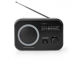 Radio FM/AM | 1,8 W | Format de Poche | Noire