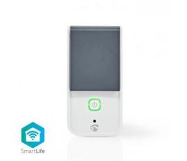 Prise intelligente SmartLife | Wi-Fi | IP44 | Wattmètre | 3680 W | France / Type E (CEE 7/6) | -30 - 40 °C | Android™ & iOS | Blanc/Gris