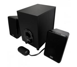 Haut-parleurs 2.1 Filaire 3.5 mm 11 W Noir