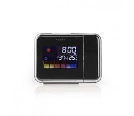Horloge projecteur | Alarme | Hygromètre | Prévisions météorologiques