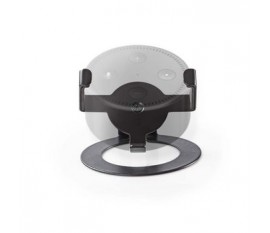 Mountage pour haut parleur | Amazon Echo Dot | Bureau | 1 kg | Fixe | Acier | Noir