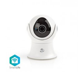 Caméra extérieure SmartLife | Wi-Fi | Full HD 1080p | IP65 | Cloud / 16 Go interne | 12 VDC | Vision nocturne | Android™ & iOS | Blanc