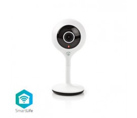 Caméra intérieure SmartLife | Wi-Fi | HD 720p | Cloud / Micro SD | Vision nocturne | Android™ & iOS | Blanc