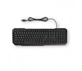 Clavier filaire USB   Touches Multimédias   US International