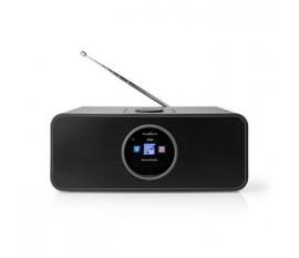 """Radio internet   Conception de table   Bluetooth® / Wi-Fi   FM / Internet   2.4 """"   Écran couleur   42 W   Télécommandé   Application contrôlée   Sortie casque   Réveil   Minuterie de sommeil   Noir"""