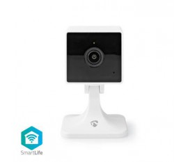 Caméra intérieure SmartLife   Wi-Fi   Full HD 1080p   Cloud / Micro SD   Vision nocturne   Android™ & iOS   Blanc