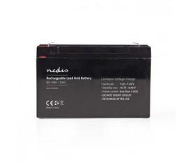 Pile rechargeable plomb-acide | Plomb-acide | Rechargeables | 6 V | 10000 mAh | 151 mm | 50 mm | 95 mm
