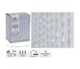 WATERFALL LIGHTING | 220 LED | 2 METERS LIGHTING | 1 METER HEIGHT | WHITE