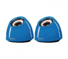 Haut-parleurs 2.0 USB 3.5 mm 6 W Bleu