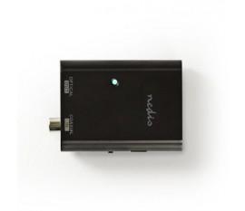 Convertisseur audio digital | Une voie | Entrée de connexions: 1x S/PDIF (RCA) | Sortie de connexions: Toslink Femelle | Manuelle | Anthracite