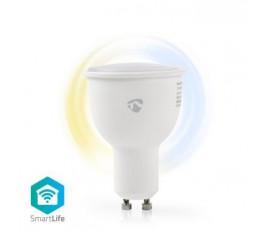 Ampoule SmartLife | Wi-Fi | GU10 | 380 lm | 4.5 W | Blanc Chaud / Blanc Froid | 2700 - 6500 K | Classe énergétique: A+ | Android™ & iOS | Diamètre: 50 mm | PAR17