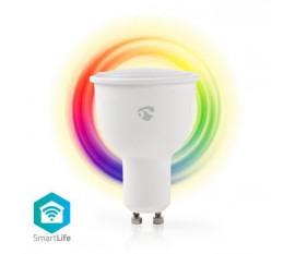 Ampoule SmartLife toute couleur | Wi-Fi | GU10 | 380 lm | 4.5 W | Blanc Chaud / RGB | 2700 K | Android™ & iOS | Diamètre: 50 mm | PAR17