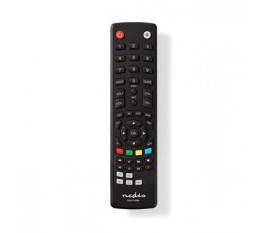 Télécommande universelle | Préprogrammée | Nombre d'appareils: 2 | Boutons de mémoire / TV Guide Button | Infrarouge | Noir