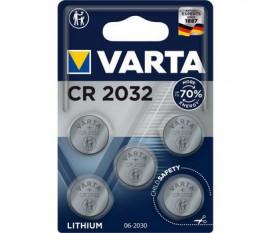 Pile bouton au Bouton Lithium CR2032 5-Plaquette