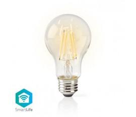LED SmartLife à intensité variable | Wi-Fi | E27 | 500 lm | 5 W | Blanc Chaud | 2700 K | Verre | Android™ & iOS | Diamètre: 60 mm | A60