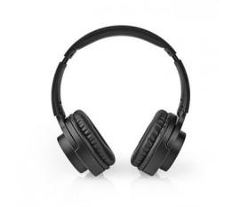 Casque sans fil   Temps de lecture de la batterie: Jusqu'à 12 heures   Microphone intégré   Control de pression   Réduction de bruit   Support de commande vocale   Contrôle du Volume   Noir