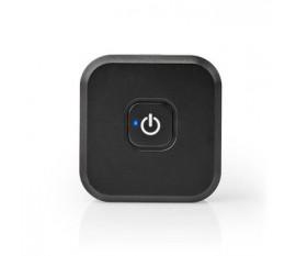 Emetteur Bluetooth | Entrée de connexions: 2x 3,5 mm Mâle | SBC | Jusqu'à 1 appareil | Jusqu'à 5 heures | Fonction hors tension automatique | Noir