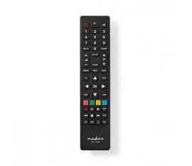 Télécommande universelle   Programmable   Nombre d'appareils: 4   Effacer la mise en page   Infrarouge   Noir
