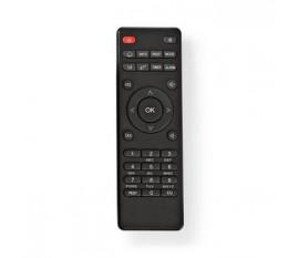 Télécommande de remplacement   Convient à: RDIN3000BK / RDIN4000BK / RDIN5000BK / RDIN5005BK   Fixe   Nombre d'appareils: 1   Effacer la mise en page   Infrarouge   Noir