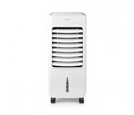 Refroidisseur aéromobile   Capacité du réservoir d'eau: 6 l   3 Vitesses   300 m³/h   Oscillation   Télécommande   Minuterie d'arrêt   Fonction ionisante