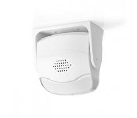 Alarme détecteur de mouvement | Alimenté par pile | 3x AAA | 80 dB | gamme de détecteurs: 1.10 m | Angle du détecteur: 10 ° | Mural / Plafond | 1 pièces | Blanc