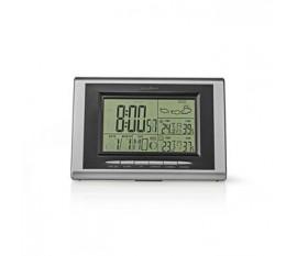 Staion météo | Intérieur et extérieur | Y compris capteur météo sans fil | Prévisions météorologiques | LCD rétroéclairé | Affichage de l'heure | La fonction de réveil