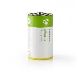 Piles alcalines D | 1.50 V | Alcaline | D / MN1300 / MX1300 / 13A / 12000 | Nombre de batteries: 2 pièces | blister | LR20 | Jaune / Vert