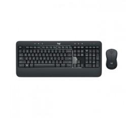 Kit Souris et Clavier sans fil Combi Pack Bureau USB US International Noir