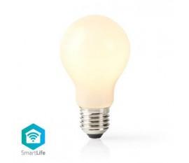 LED SmartLife à intensité variable | Wi-Fi | Nombre de produits dans l'emballage: 1 pièces | E27 | 500 lm | 5 W | Blanc Chaud | 2700 K | Verre | Android™ & iOS | Diamètre: 60 mm | A60