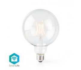 LED SmartLife à intensité variable | Wi-Fi | Nombre de produits dans l'emballage: 1 pièces | E27 | 500 lm | 5 W | Blanc Chaud | 2700 K | Verre | Android™ & iOS | Diamètre: 125 mm | G125