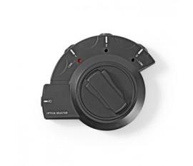 Commutateur audio numérique | 3 voies | Entrée de connexions: 3x TosLink | Sortie de connexions: 1x TosLink | Manuelle | ABS / PVC | Noir