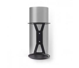 Mountage pour haut parleur   Amazon Echo Gen1   Mural   1.5 kg   Fixe   Acier   Noir
