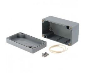 Boîtier plastique 65 x 115 x 55 mm gris foncé ABS IP 65
