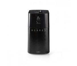 Humidificateur d'air   30 W   Avec Brume Refroidissante   6 l   Hygromètre   Minuteur   Convient pour un espace jusqu'à: 50 m²   Télécommande   Noir