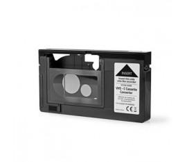 Convertisseur VHS | Conversion: VHS-C à VHS | Brancher et utiliser | Noir