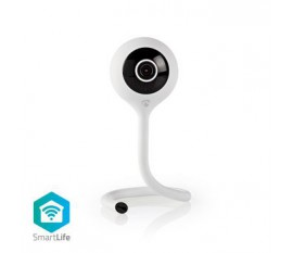 Caméra intérieure SmartLife   Wi-Fi   Full HD 1080p   Cloud / Micro SD   Vision nocturne   Android™ / IOS   Blanc