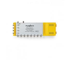 Multicommutateur | 5 à 8 | Connecteur F | Terrestre : 47 - 862 MHz | Satellite : 950 - 2 150 MHz