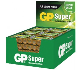 Piles alcalines AA 1.5 V Super 192-Affichage