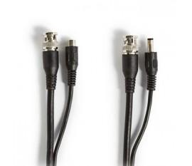 Câble de Sécurité CCTV BNC/c.c. | RG59 | 10 m | Connecteurs pré-assemblés