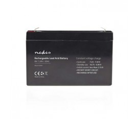 Batterie au Plomb-acide 6 V | 7200 mAh | 151 x 34 x 95 mm