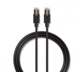 Câble réseau Cat 6 F/UTP | RJ45 (8P8C) Mâle - RJ45 (8P8C) Mâle | 2,0 m | Anthracite